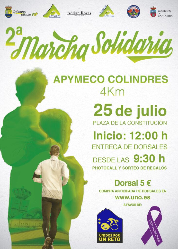 II Marcha Solidaria Apymeco Unidos por un Reto